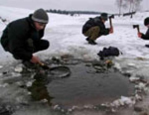 Лёд на реках и озерах Марий Эл потерял прочность