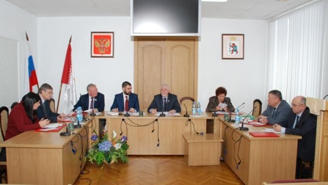 Депутаты утвердили окончательную повестку дня тридцать пятой сессии и порядок её работы