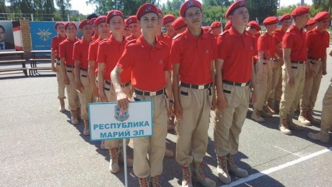 Школьник из Марий Эл признан лучшим стрелком оборонно-спортивного лагеря