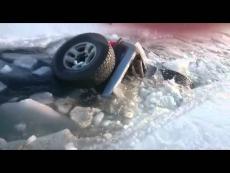 В Марий Эл под лед ушли четыре автомобиля, четыре человека утонули
