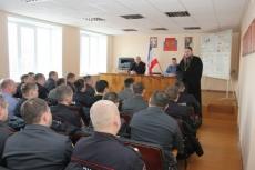 Православный священник провел урок патриотизма и духовности для полицейских