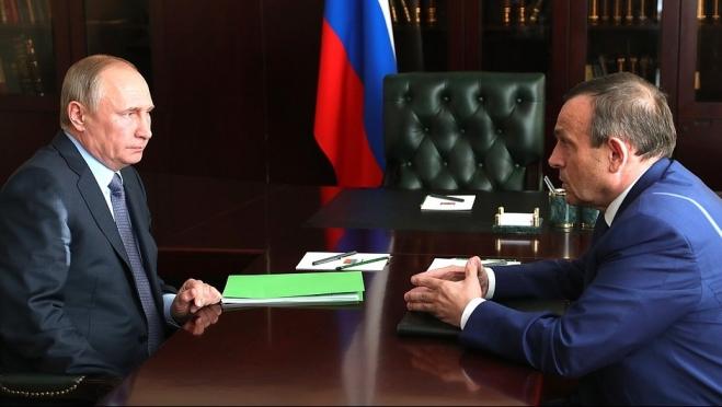 О чём говорил Президент России с врио Главы Марий Эл