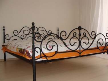 Так же можем изготовить сварную кровать. Цена 15000