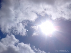 В Марий Эл установилась аномально жаркая погода