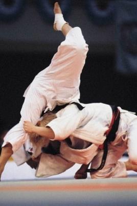 Всероссийские соревнования по дзюдо постер