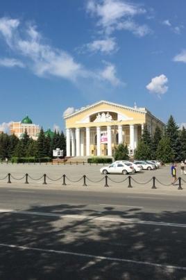 День города на площади Ленина постер