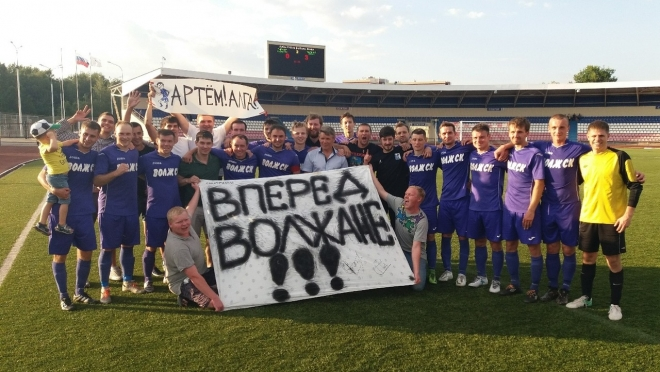 Футболисты из Волжска стали обладателями Кубка Марий Эл