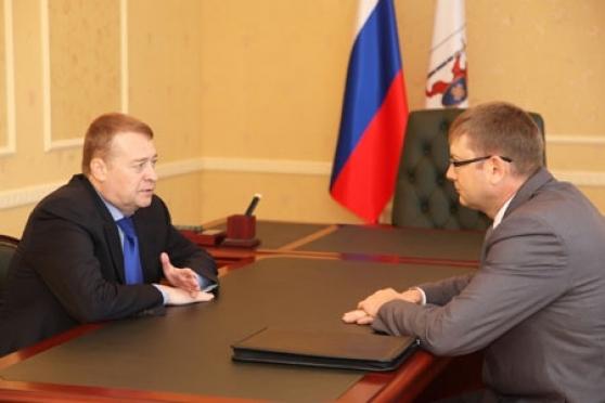 Алексей Плотников в новой роли встретился с Главой республики