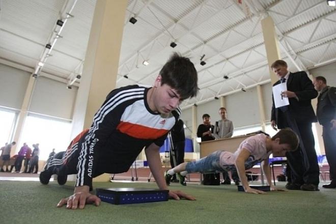 Школьники Йошкар-Олы сдают нормы ГТО