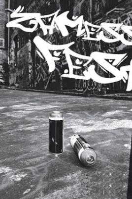 Республиканский открытый фестиваль граффити «Zamess fest» постер