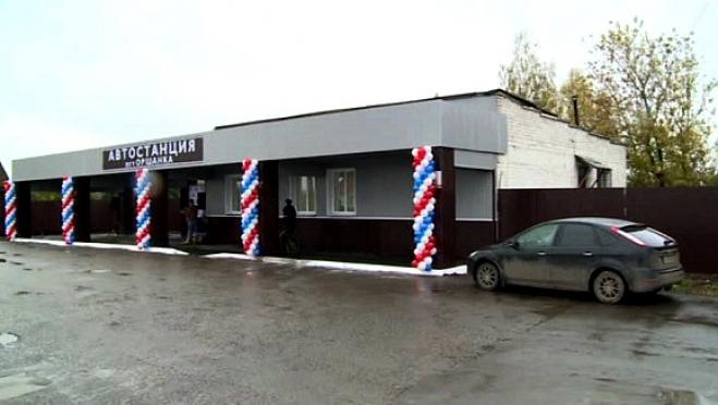 В посёлке Оршанка после реконструкции открылось здание автостанции