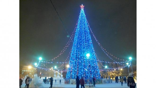 В Марий Эл главная новогодняя ель будет установлена на следующей неделе