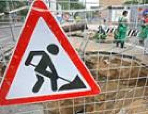 Коммунальщики Йошкар-Олы перекрыли центр города