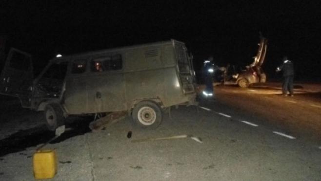 Крупное ДТП произошло ночью на трассе в Марий Эл