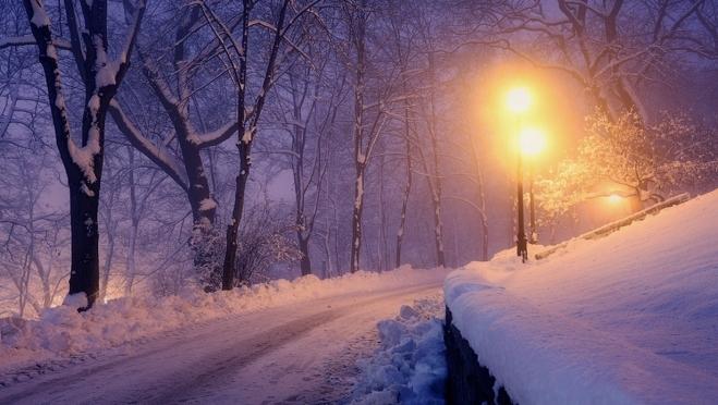Погода пересмотрела свои планы на Новогоднюю ночь