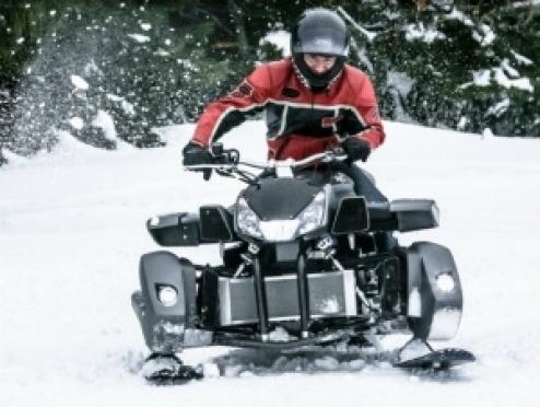Госавтоинспекторы летом задержали нетрезвого водителя снегохода
