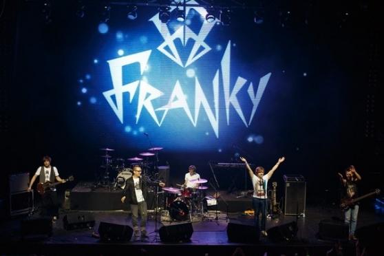 Через несколько минут на сайте Marimedia стартует прямая трансляция интервью с группой FRANKY