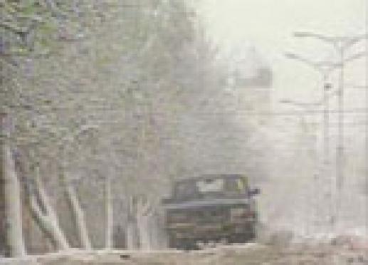 Неожиданный снегопад в Йошкар-Оле вызвал панику на дорогах