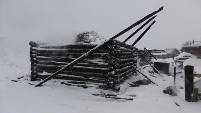В Мари-Турекском районе сгорел домашний скот