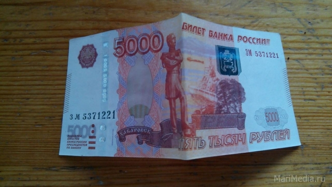 Пенсионерка из Волжска лишилась пяти тысяч рублей