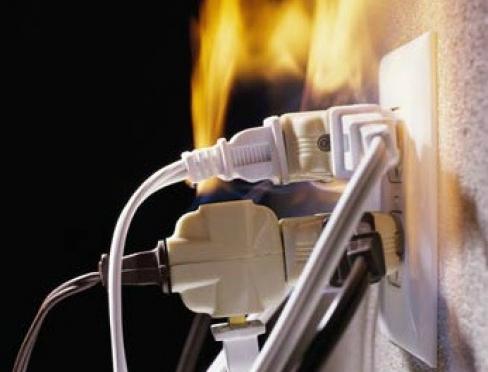 В Марий Эл возросло число пожаров по электрическим причинам