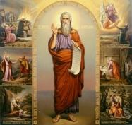 Илья Пророк бросил в воду ледяшок