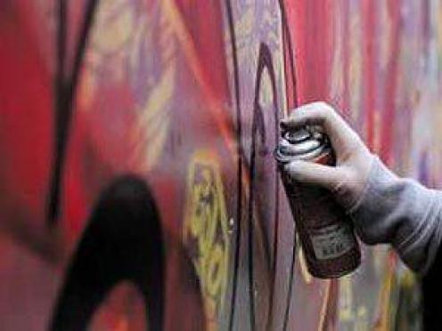 Подросток из Марий Эл «украсил» Центр культуры нецензурными надписями