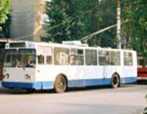 В целях изучения общественного мнения мэрия столицы накануне открыла общественную приёмную в салоне троллейбуса №4.