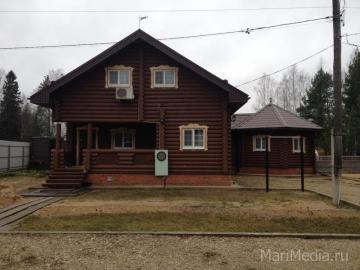 Дом построен нами 4 июня 2010 года в  п. Шуйка Звениговского района Марий Эл