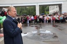 Глава Марий Эл лично поздравил учеников Краснооктябрьской школы с Днем знаний