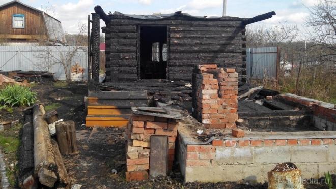 В Марий Эл растёт число пожаров в садовых товариществах