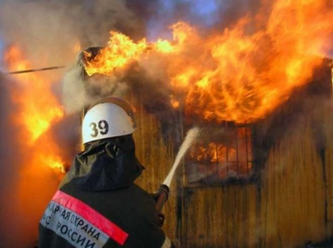 В Звениговском районе сгорел жилой дом