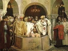 Россияне празднуют День крещения Руси