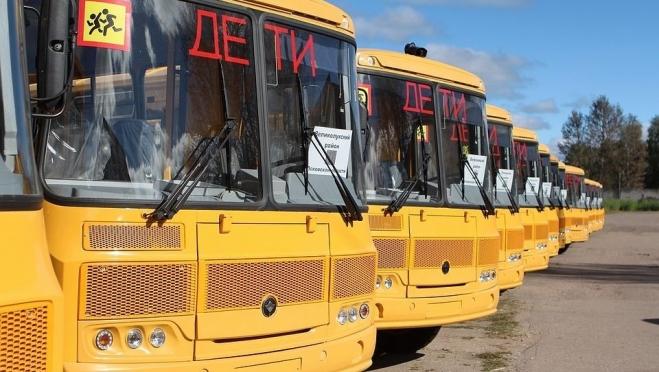 В Марий Эл пришли 27 новых школьных автобусов