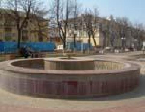 В Йошкар-Оле на бульваре Чавайна не бьют фонтаны