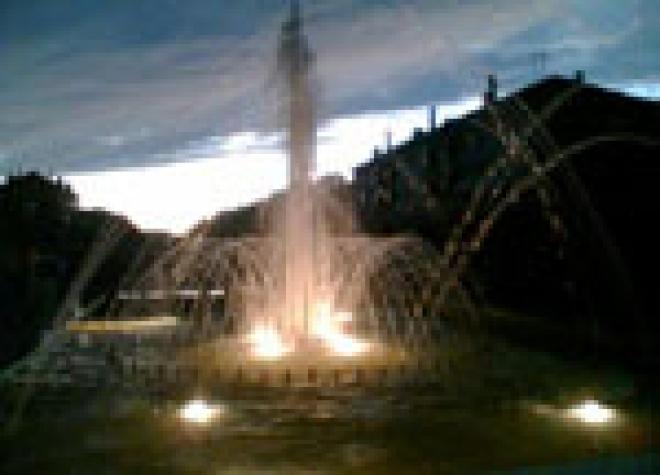 В Йошкар-Оле (столица Марий Эл) отключили один из фонтанов на бульваре Чавайна