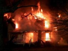 В Светлый праздник Пасхи в Марий Эл сгорели два частных хозяйства