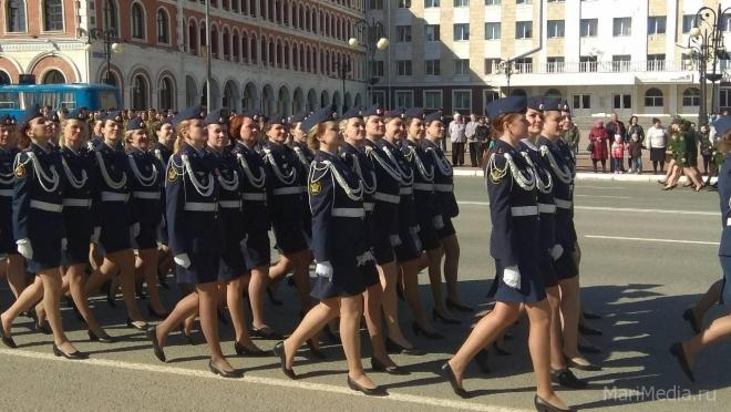 Сегодня в Йошкар-Оле пройдёт финальная репетиция парада Победы
