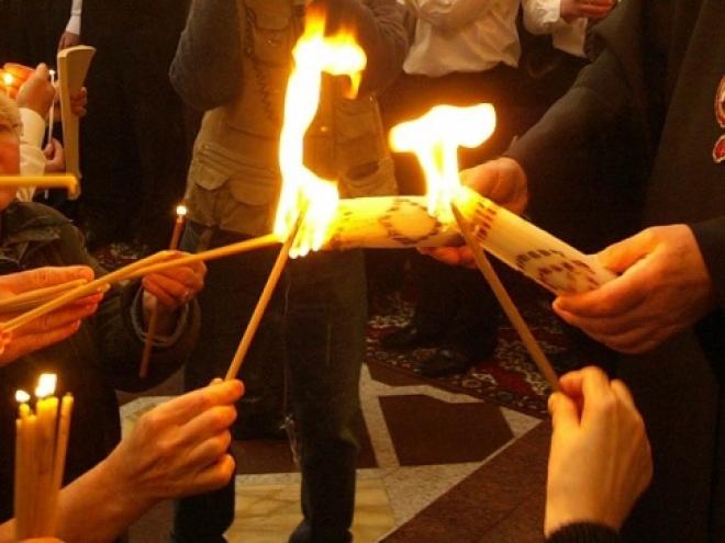 20 апреля в Марий Эл доставят Благодатный огонь из Храма Гроба Господня из Иерусалима