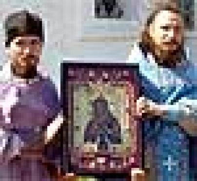 В Ежовский монастырь (Марий Эл) вернули святой образ