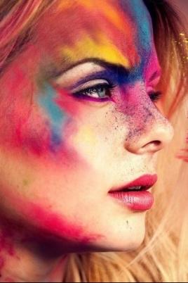 III Ежегодный фестиваль красок постер