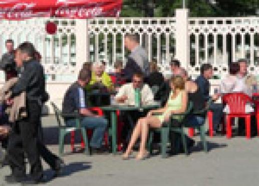 В столице Марий Эл открывается сезон шашлычных и летних кафе