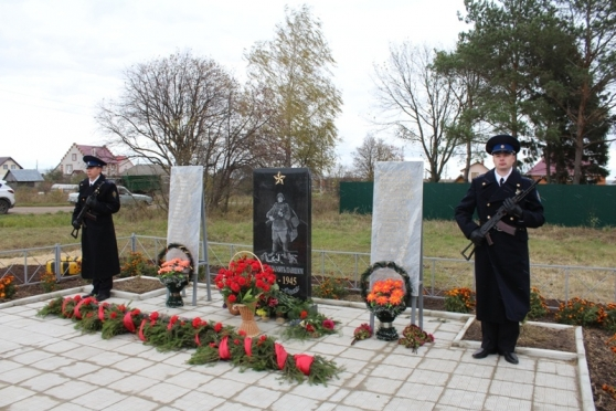 В деревне Шоя-Кузнецово установили стелу «Землякам, за Родину павшим в боях»