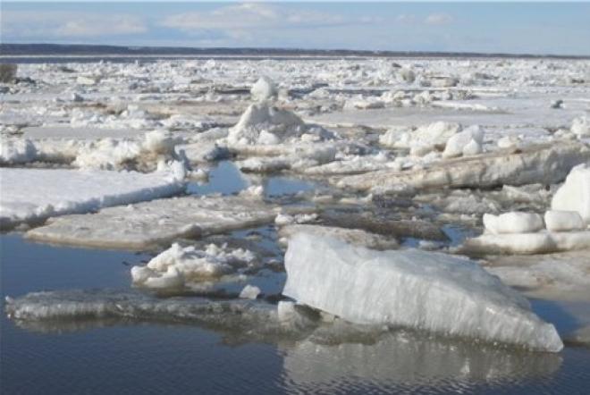 Вскрытие рек можно будет ожидать в первой декаде апреля