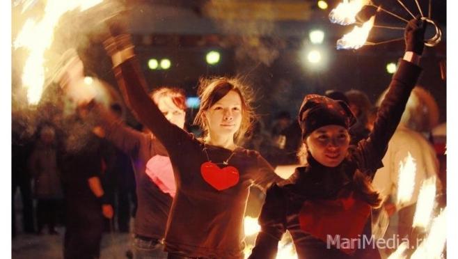 В Царевококшайском кремле пройдет благотворительное огненное шоу