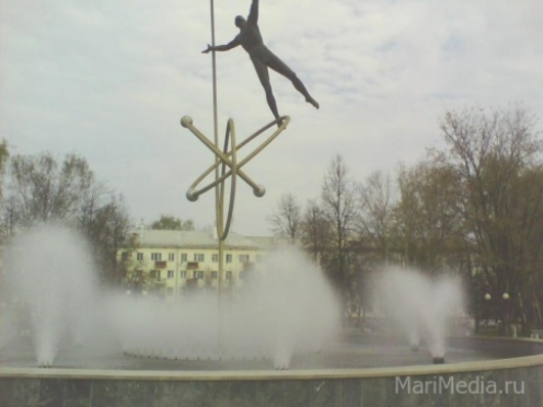 Йошкар-Ола готовится к сезону фонтанов