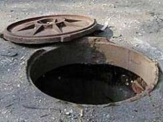 Воры решили немного подзаработать и похитили крышку канализационного люка