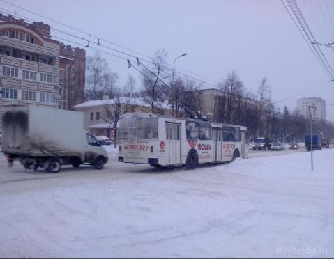 В Йошкар-Оле изменены маршруты движения троллейбусов в Заречной части