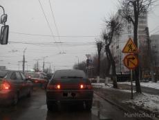 На перекрестке Ленинского проспекта и улицы К. Маркса не работает светофор