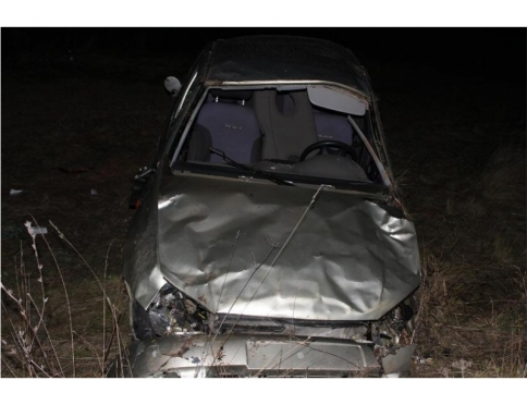«Лада Калина» ушла на скорости в кювет, водитель — погиб